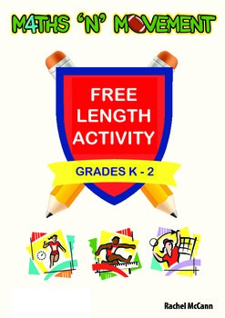 Free Physical Education (PE) and Maths Games - Length Activity - Years K, 1 & 2