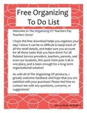 Organizing Tool - To Do List