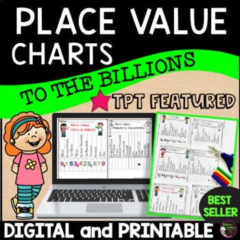 Free Place Value Charts to the Billions!!!