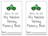 Free Race to 100 Booklet to Promote Number Writing Fluency