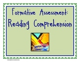 Free: Reading Comprehension Formative Assessment Idea