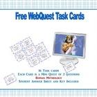 Free Webquest Task Cards-  Roman Mythology Grades 4-7