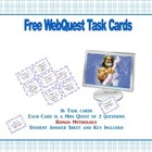 Free Webquest Task Cards-  Roman Mythology Grades 4-7