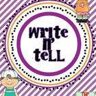 Free Write and Tell