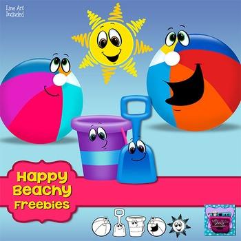 Freebie Beach Clipart