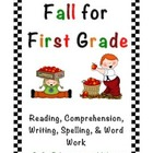 Freebie: Fall for First Grade