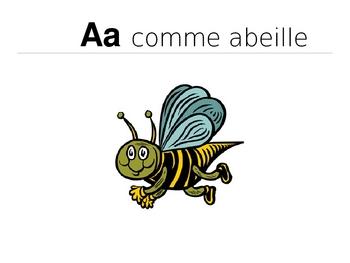 French Alphabet PowerPoint