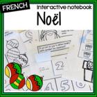 French Christmas interactive notebook – cahier interactif de Noël