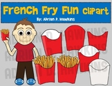 French Fry Fun Clipart