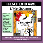 (French) Halloween – l'Halloween – LOTO (Bingo) Game