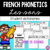 French Phonics Blends Student Booklet (Les sons)