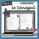 French/English – le Sénégal – Senegal Webquest/Internet Activity
