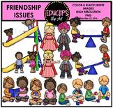 Friendship Issues Clip Art Bundle