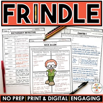 Frindle MEGA Activity Packet: A Novel Study of the book by Andrew Clements