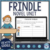 Frindle Comprehensive Unit Plan - Everything You Need + More!