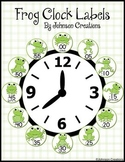 Frog Clock Labels