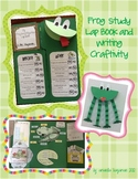 Frog Lap Book and Writing Craftivity