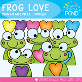 Frog Love Clipart