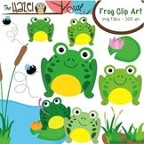 Frog Set: Clip Art Graphics for Teachers