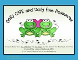 FrogTheme - Daily 5/CAFE Posters