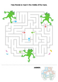 Frogs Maze, Commercial Use Allowed
