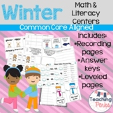 Frost Smitten Literacy and Math {Mini Unit and Centers}