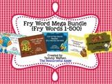 Fry Word MEGA Bundle {Fry Words 1-500}