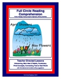 Full Circle Reading Comprehension - April Showers and May Flowers
