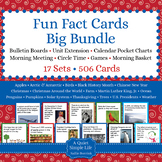 Fun Fact Cards BUNDLE - 17 Sets of Cards for Bulletin Boar
