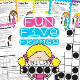 Fun Five Frames - 6 Print and Play Games with Worksheets