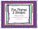Fun Frames & Borders Clip Art for Commercial Use