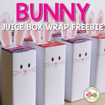 Fun Freebie: Easter Bunny Juice Box Wrap