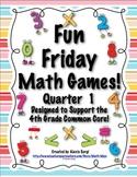 Fun Friday Math Games - Quarter 1