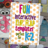 Interactive Notebook Flip Flap Templates - Perfect for K2