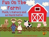 Fun On The Farm- 12 Activities Included!