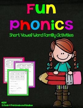 Fun Phonics-First Grade and Fabulous