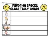 Fun Tally Charts