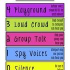 Fun Voice Level Chart