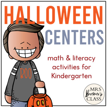 Fun With Frank: Halloween Themed Math and Literacy Activities