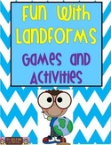 Fun With Landforms: Games and Activities Packet