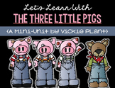 Fun With The Three Little Pigs {Math and Language Arts Act