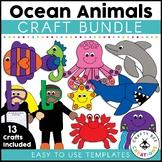 Ocean Animal Cut and Paste Set