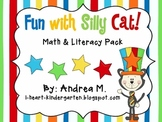Fun with Silly Cat!  Math & Literacy Activities
