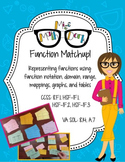 Function Match-up: matching functions, graphs, mappings, t