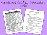 Functional Reading Curriculum Resource for ABA, Autism, Sp