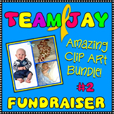 Fundraiser for Baby Jay Bundle 2 Clip Art Graphics CU OK