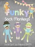 Funky Sock Monkeys Decor