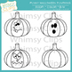 Funny Halloween Pumpkins Clip Art