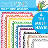 Fuzzy Bumps Borders - Graphics From the Pond