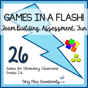 GAMES IN A FLASH #2 *Brain Breaks *End of Year *Build Comm